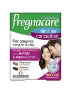 Possible to save 30% Pregnacare Vitabiotics His and Her Conception, 60 Tablets