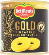 Del Monte Gold Pineapple Slices in Juice 435g