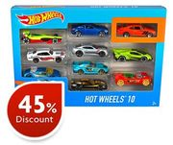 Hot Wheels - 10 Car Pack Assortment
