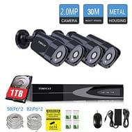 CCTV 4 Cameras with 1 Tb Hard Drive