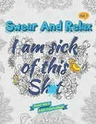 Adult Swear and Relax Colouring Book Secret Santa