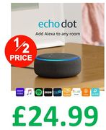 Echo Dot (3rd Gen) - Smart Speaker with Alexa - All colours