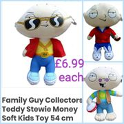 Large Soft Plush Stewie Griffin from the Hit TV Show Family Guy.