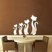Removable Mirror Wall Sticker 70% off + Free Delivery