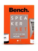 Bench Mens 150ml Body Wash and Bluetooth Portable Speaker Gift Set