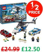 BE QUICK! 1/2 PRICE! LEGO CITY - Police High-Speed Chase (60138) *4.8 STARS*