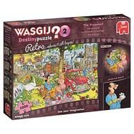 Wasgij Destiny Retro 2-the Proposal 1000 Piece