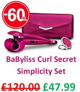£72 OFF! BaByliss Curl Secret Simplicity Set, Hair Styler