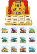 12 Pcs Childrens Dinosaur Temporary Tattoos
