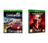 GLITCH - XBOX ONE Tekken 7 & Project Cars 2 Bundle