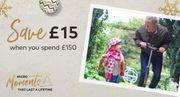 Save an EXTRA £15 on Every Order When You Spend £150 or More.