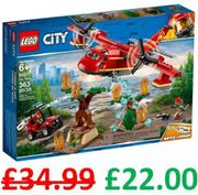 Bargain! LEGO CITY FIRE PLANE (60217) *4.9 STARS* Free Delivery