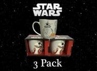3 Pack of Star Wars Mugs