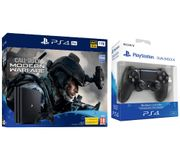 PS4 Pro with Call of Duty: Modern Warfare & DualShock 4 V2 Wireless Controller