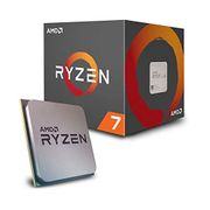 AMD Ryzen 7 2700 Processor with Wraith Spire RGB LED Cooler -
