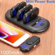 1000mAh Mini Magnetic Finger Powerbank
