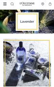 Enjoy Free Delivery on Any Lavender Products at L'Occitane
