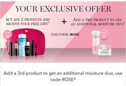 Offer Stack at Lancome - Free Deluxe Gift and 30% off