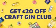 £20 off Code - Gin Lovers