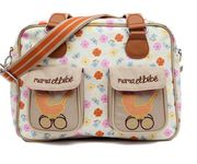 Pink Lining Mama Et Bebe Changing Bag - Pansies