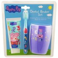 Peppa Pig Dental Beaker Set.