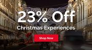 23% off Christmas Experience's