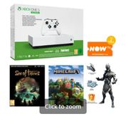 1TB XBOX ONE S ALL DIGITAL EDITION and NOW TV Only £149