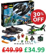 SAVE £15! LEGO Batman Batwing and the Riddler Heist (76120)