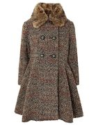 Monsoon Girls HATTIE TWEED COAT
