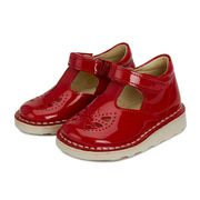 Poppy T-Bar Shoe London Red Patent Leather | Baby