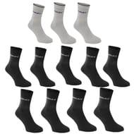 12 Pack Crew Socks (Size 6-11)