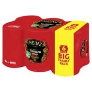 Heinz Tomato/Chicken Soup 6 X 400g