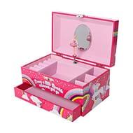 Unicorn Jewellery Box, Ballerina Music Box for Girls FBA