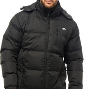 Mens Trespass Coat - Black