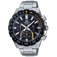 *SAVE £60* Casio Edifice Countdown Men's Stainless Steel Bracelet Watch