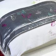Butterflies Bed Runner - Single Size - Save £4