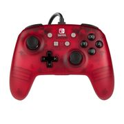 Enhanced Wired Controller for Nintendo Switch - Red Frost 33%off at Smyths