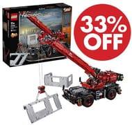 Save £77 at Amazon! LEGO Technic - Rough Terrain Crane (42082)