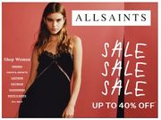 ALLSAINTS Sale LIVE NOW!