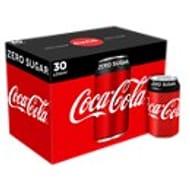 Coca-Cola Zero Sugar Cans or Coca Cola Diet 30pk