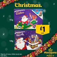 Cadbury Medium Santa or Freddo Selection Box