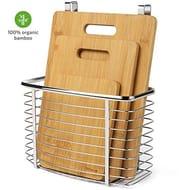Homever Chopping Board Kitchen Organizer -4 Piece Set - Save £12 with Code!