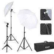 Photography Lighting - Umbrella Lights Kit-55% OFF