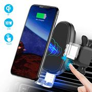 1/2 Price-Qi Wireless Car Charger and Mount Holder 2 in 1
