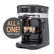 Breville AllinOne Coffee House Espresso Filter & Pods Machine Milk Frother