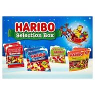 Haribo Selection Box - Starmix/Tangfastics/Supermix/Giant Strawberries