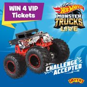 Win 4 VIP Ticket's to the Monster Truck Tour in Manchester and Glasgow!