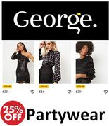 25% off Partywear at ASDA GEORGE
