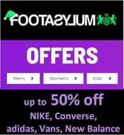 Footasylum Sale - up to 50% off NIKE, Converse, Adidas, Vans, New Balance Etc >>