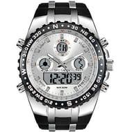 Mens Digital Sports Watch Military Waterproof Analogue Watch